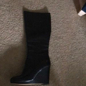 Nine West knee high heeled boots